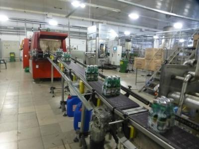 На това място ще бъде разположена новата линия за бутилиране, етикетиране и палетизиране на готова продукция