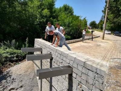 Аварийно беше ремонтиран мостът в Добруша