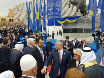 Хайтов поздрави президента на Косово