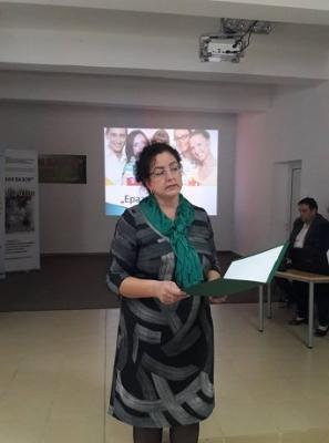 Директорът Мариела Горанова пожела успех на проекта