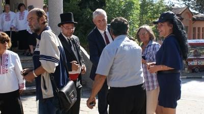 Гост бе общинският кмет Генади Събков