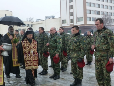 Днес празнува военното поделение във Враца