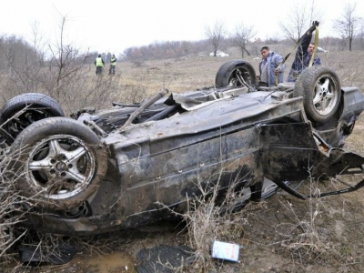 Пиян шофьор преобърна колата си