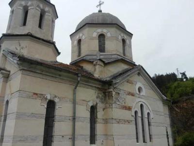 Църквата в Елисейна преди ремонта.