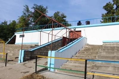 Извършен е козметичен ремонт на стадиона