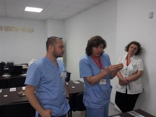 Екип от медицински физици помага за оздравяването на пациентите