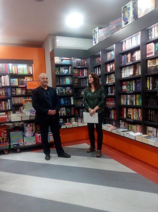 """Иво Йорданов от врачанското издателство """"Медиа груп"""" поздрави Хеликон"""