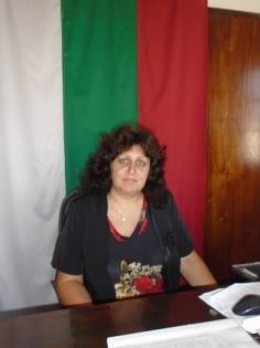 Ирена Станкулова-кмет на Остров