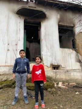 Децата са съкрушени след пожара