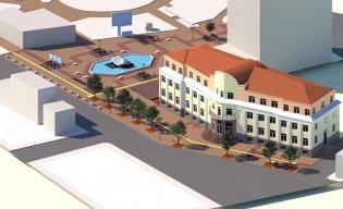 Новата визия на централния площад в града.